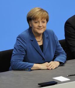Angela Merkel. Tevens een vrouw. Maar op haar stemmen is een slechte strategie bij TK2017. (Foto van Wikimedia, Martin Rulsch)