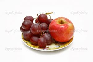 Een appel, zestien druiven